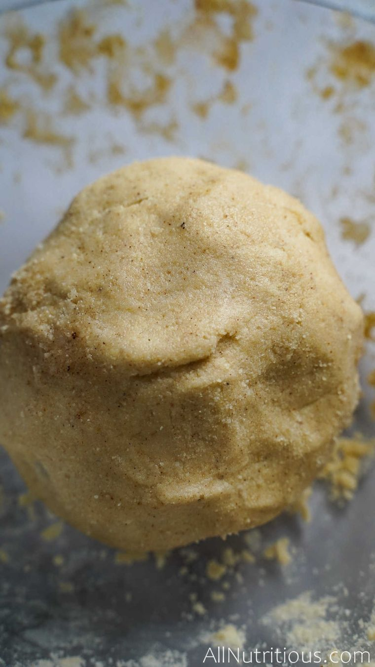 coconut cookie dough ball