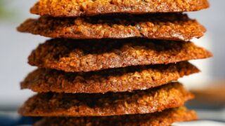 oat and raisin protein cookies