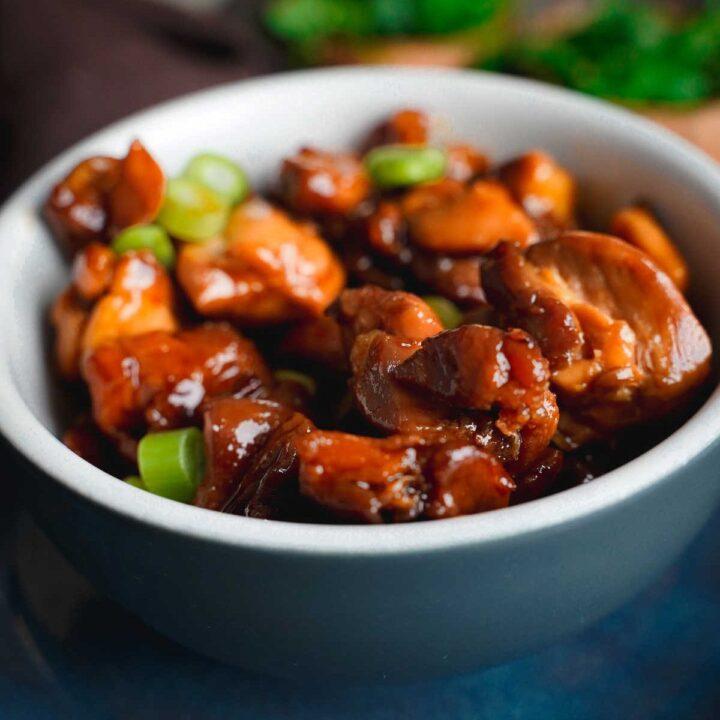 3 ingredient teriyaki chicken