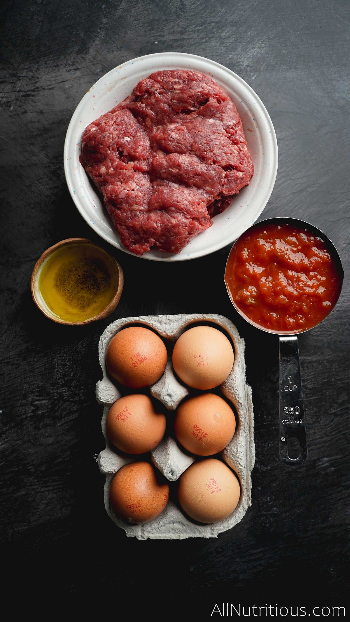 ingredients for skillet breakfast