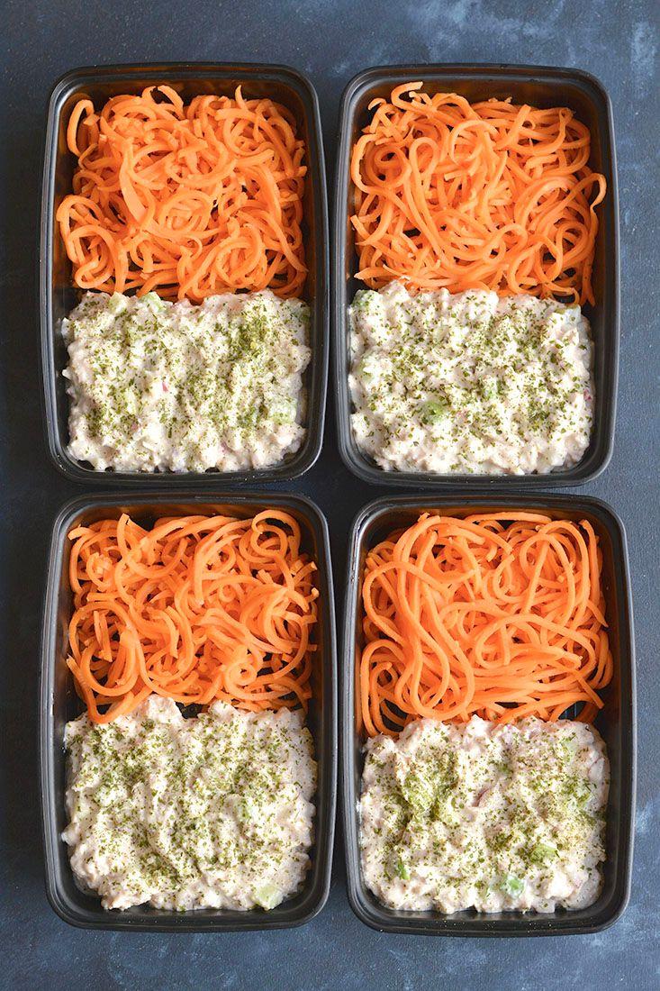 Meal Prep Cottage Cheese Tuna Salad