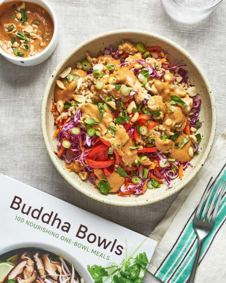 Spicy Thai Chicken & Brown Rice Bowls