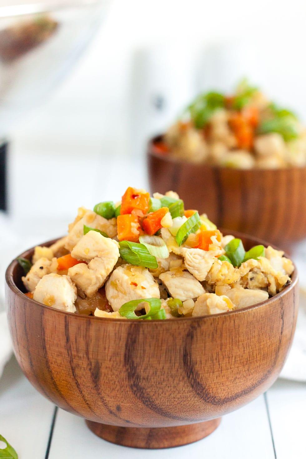 Keto Fried Rice & Chicken