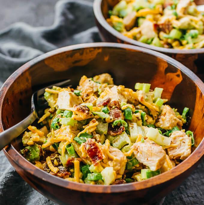 Avocado Bacon Chicken Salad