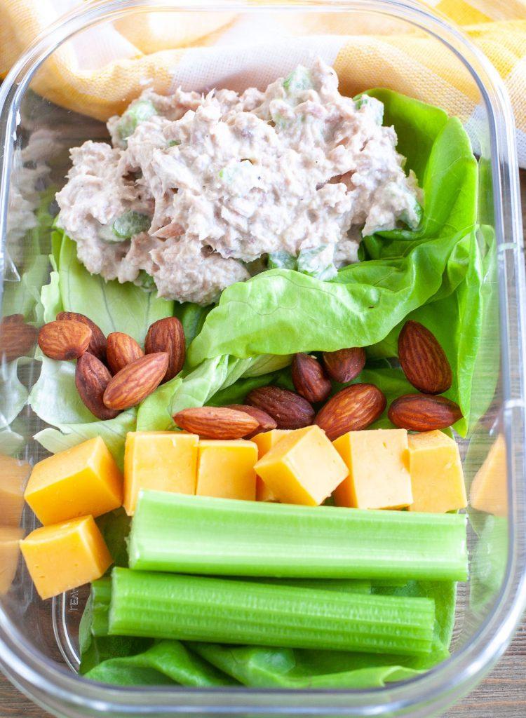 Tuna Salad Meal Prep