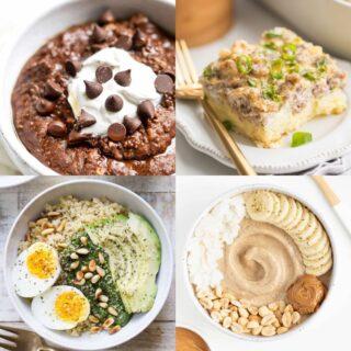 high calorie breakfast ideas