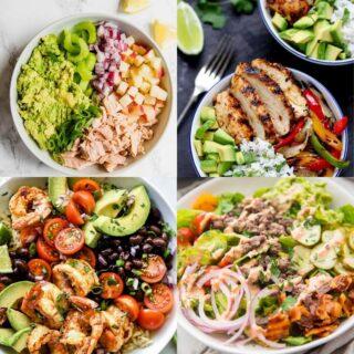 high calorie lunch ideas