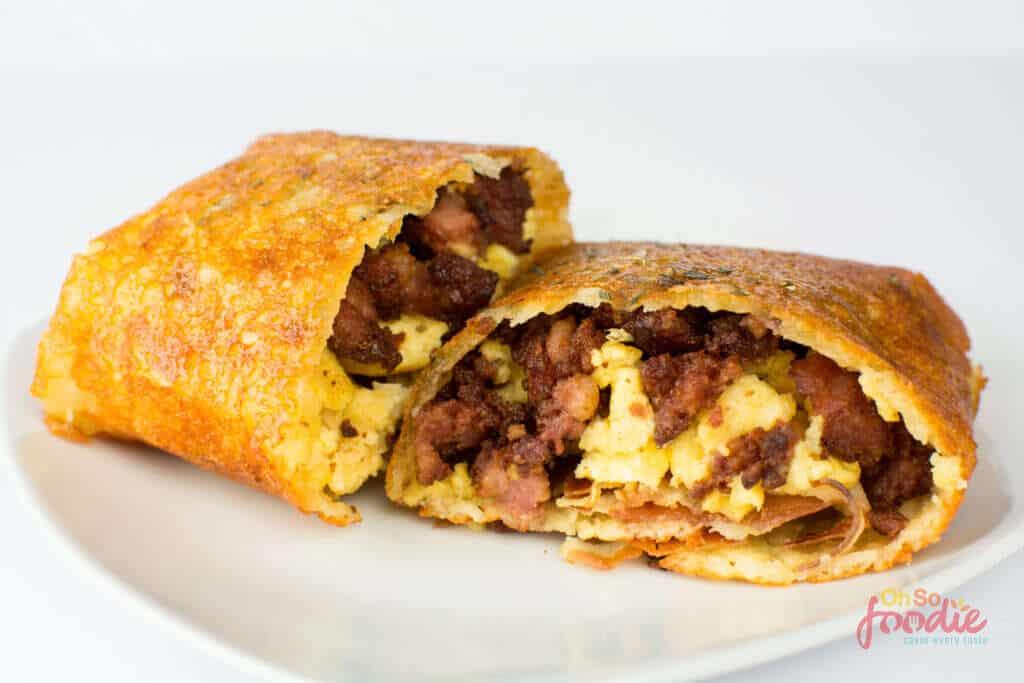 Keto Breakfast Burrito