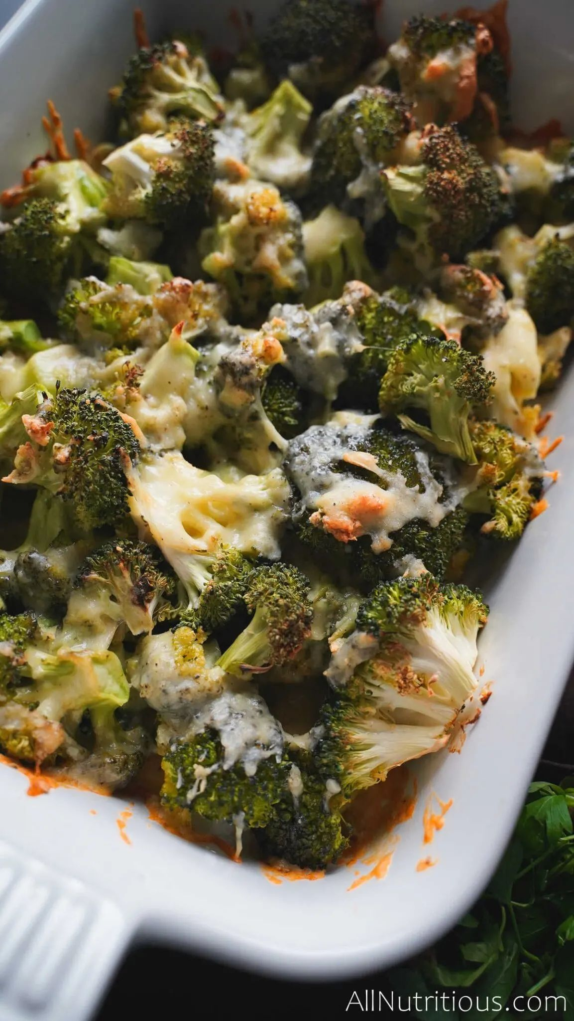 Cheesy Garlic Broccoli