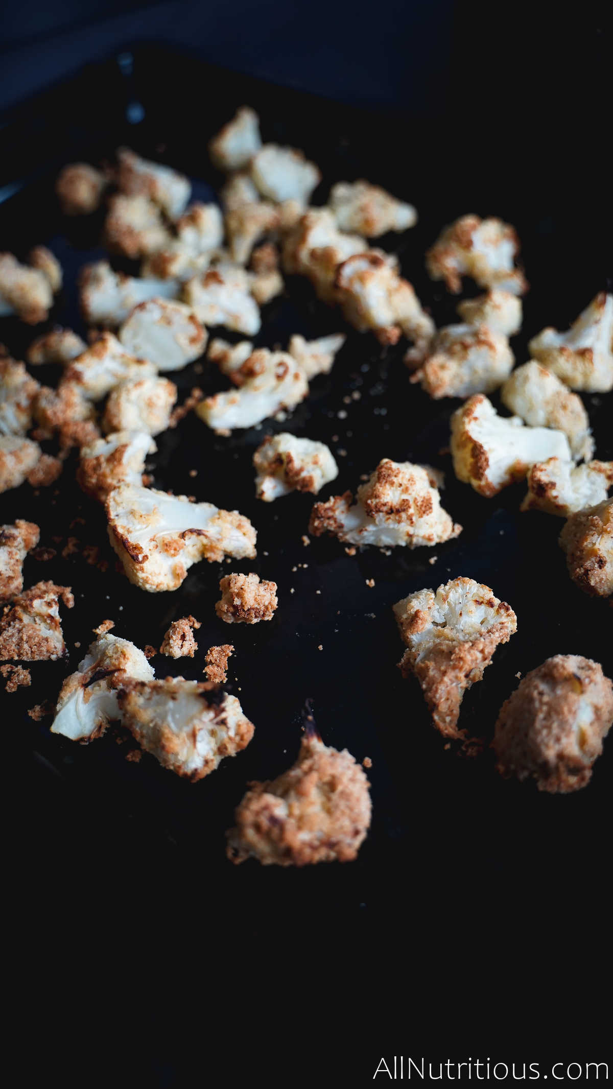 baked cauliflower bites