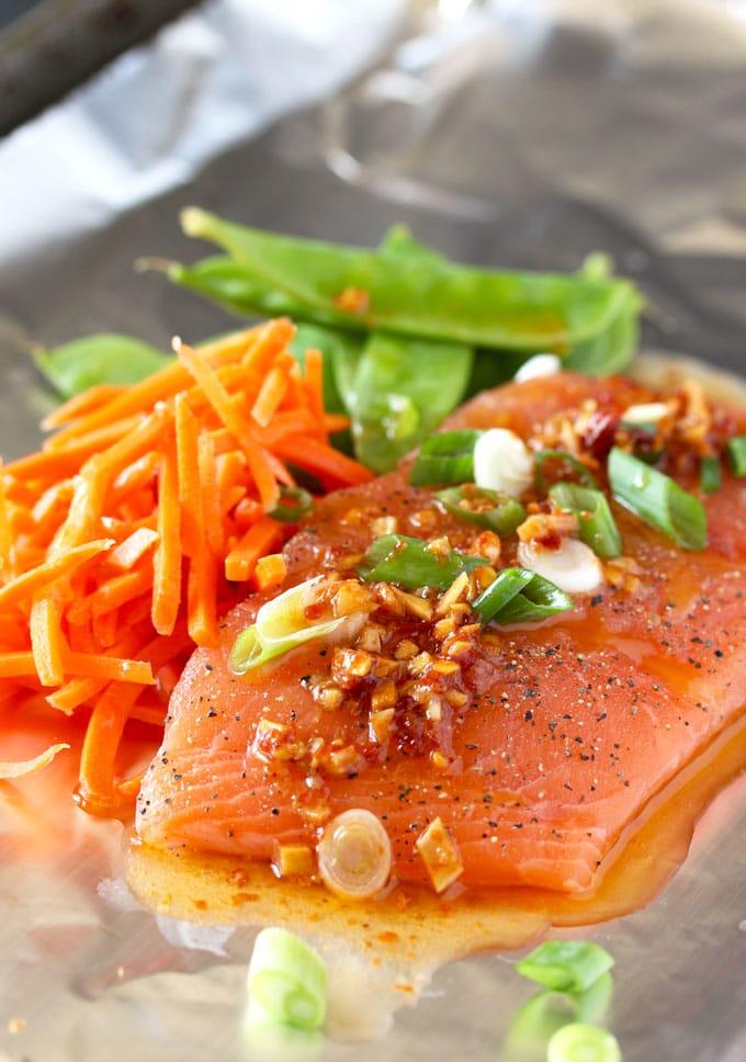 Asian Butter Salmon