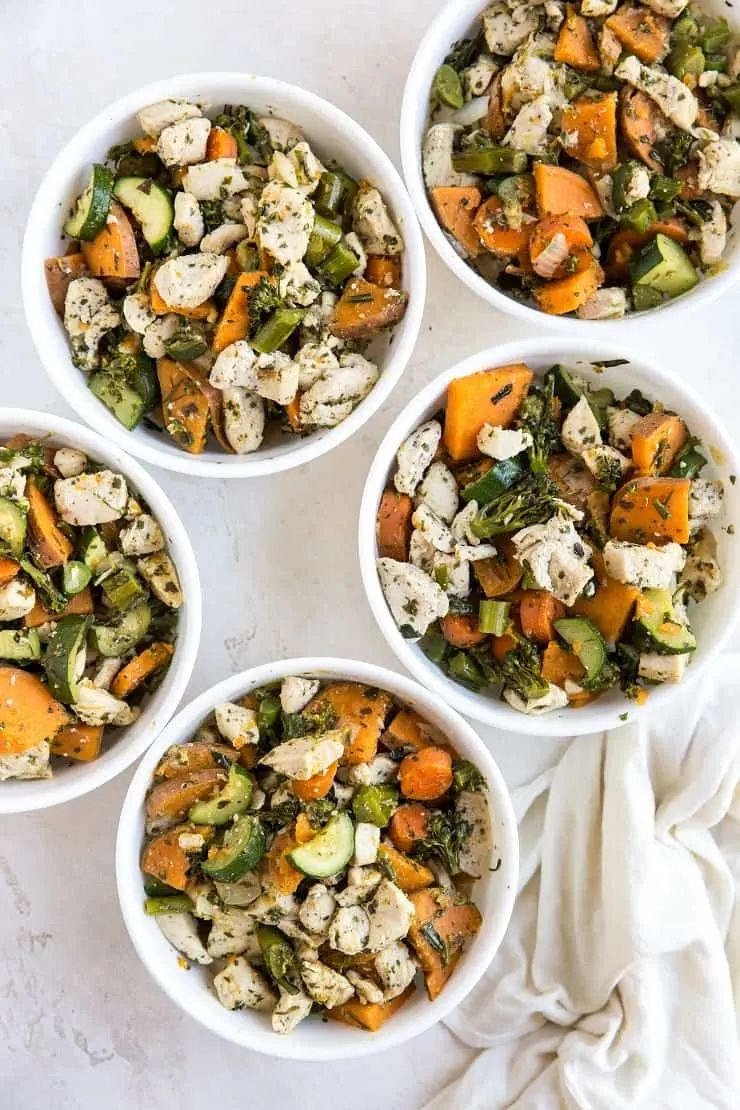 Meal Prep Chicken and Vegetables