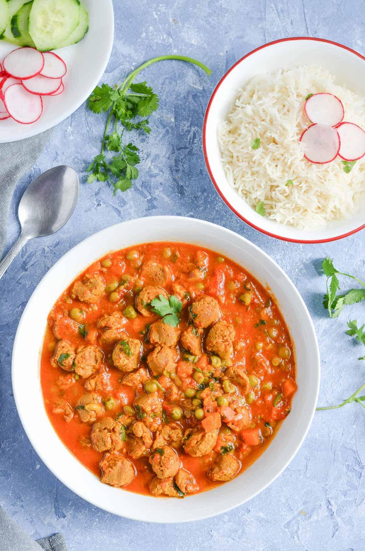 Veggie Chunks Curry