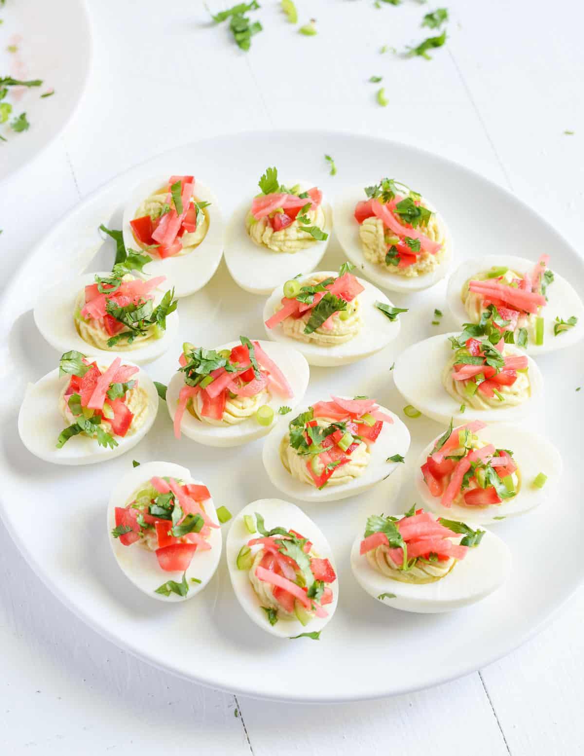 Masala Deviled Eggs