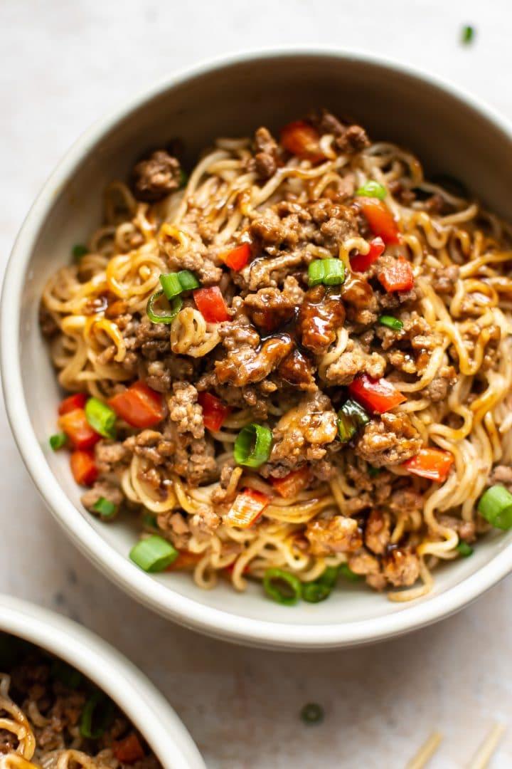 Stir Fry Beef Ramen Noodles