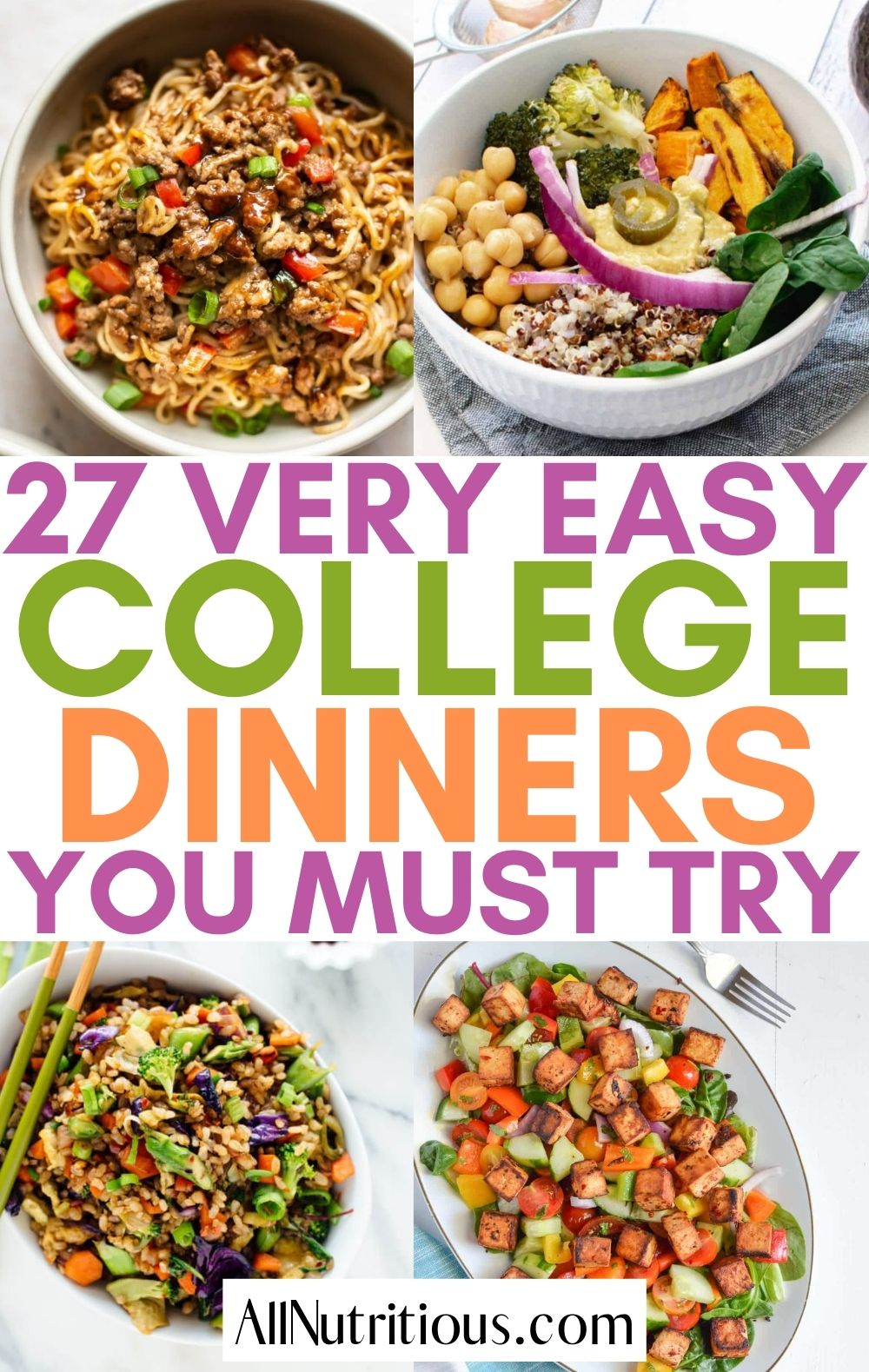 easy college dinners