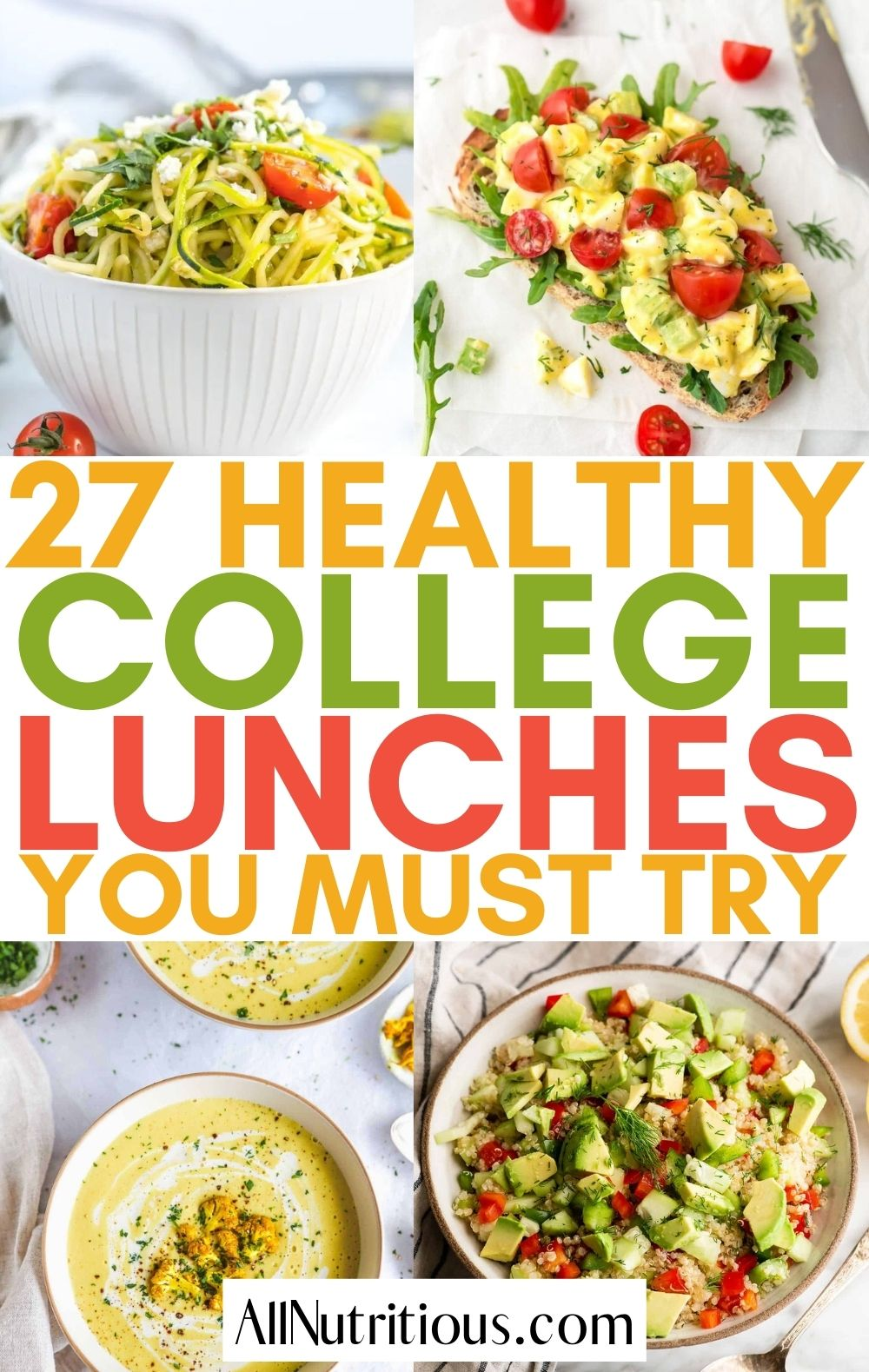college lunch recipes
