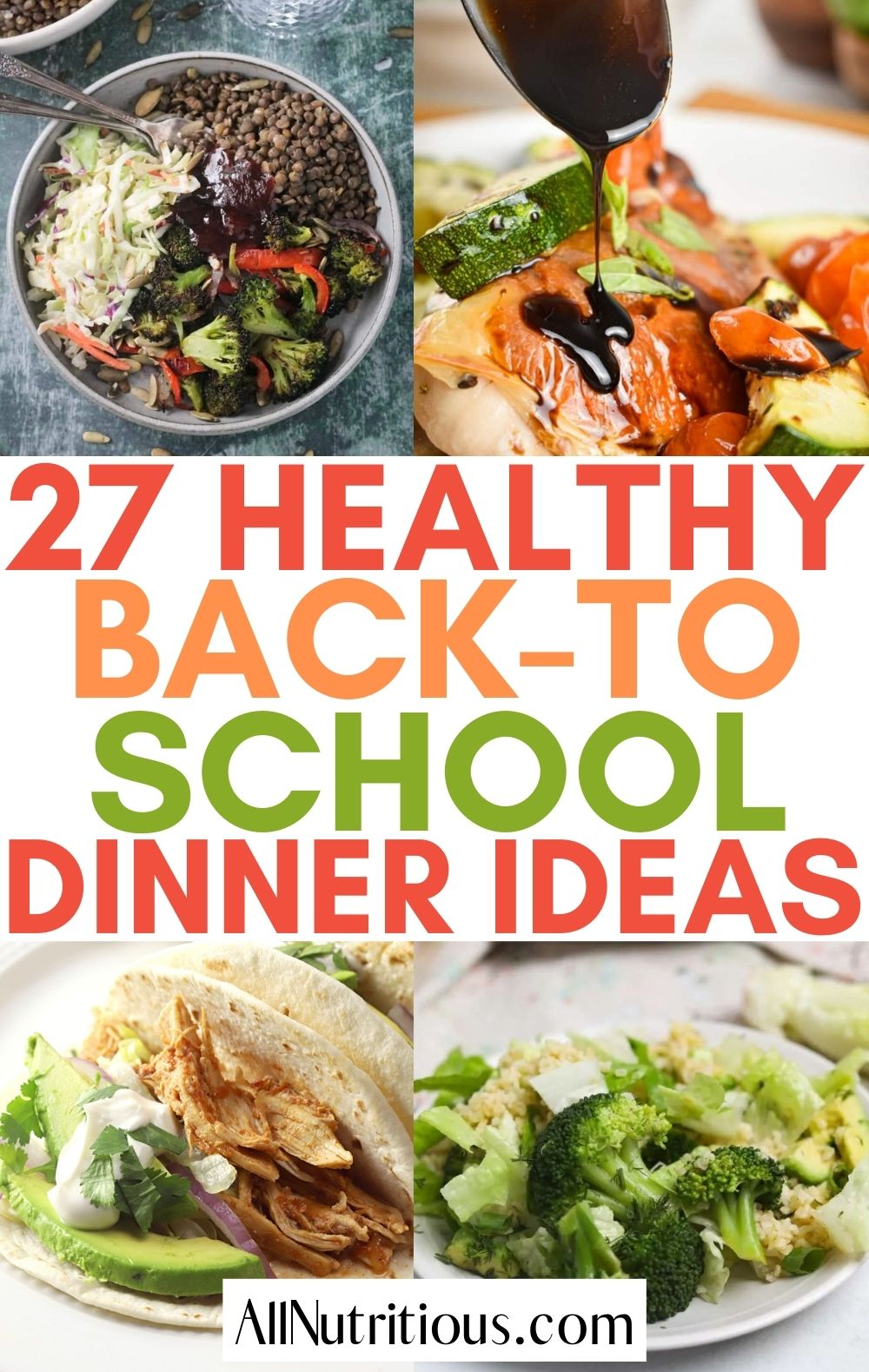 back-to-school dinners