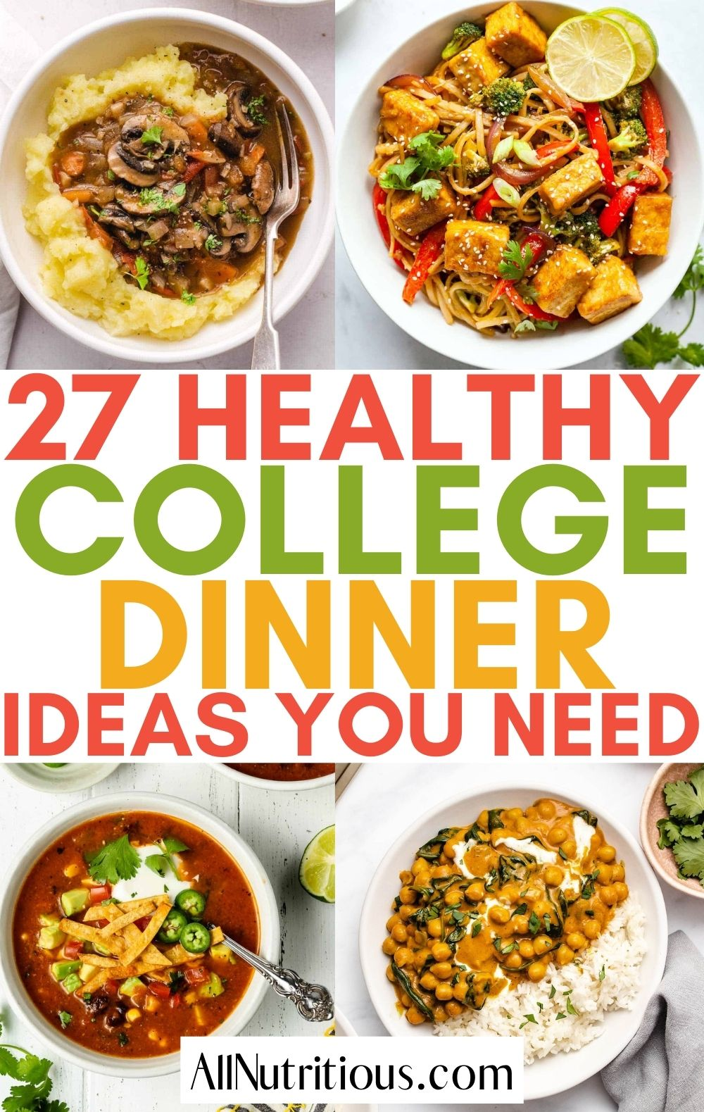healthy college dinners