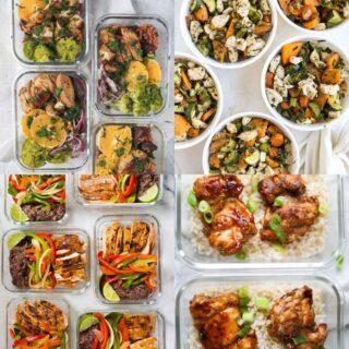healthy school meal preps