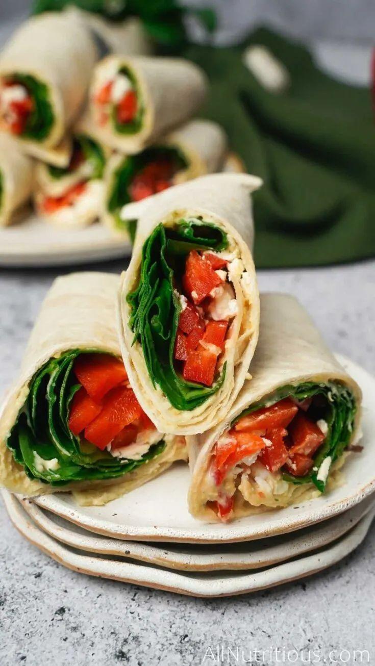 Spinach Feta Wrap