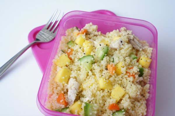 Chicken and Mango Couscous Salad