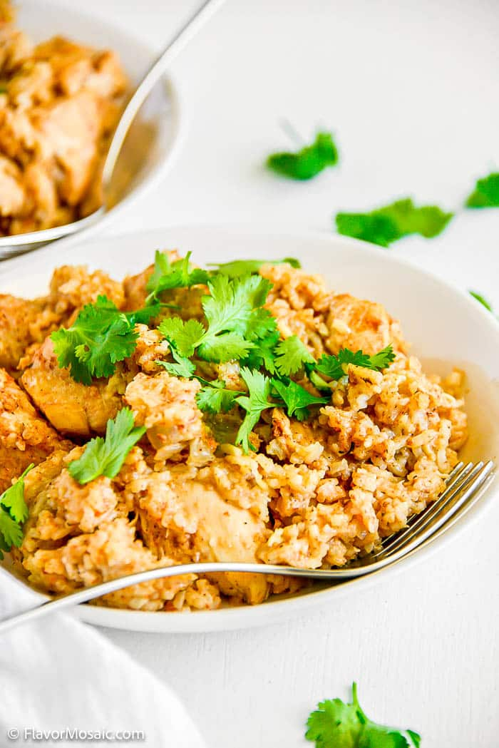 Instant Pot Mexican Rice and Chicken