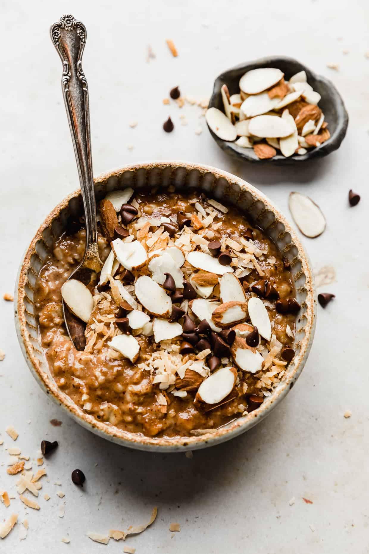 Almond Joy Oatmeal