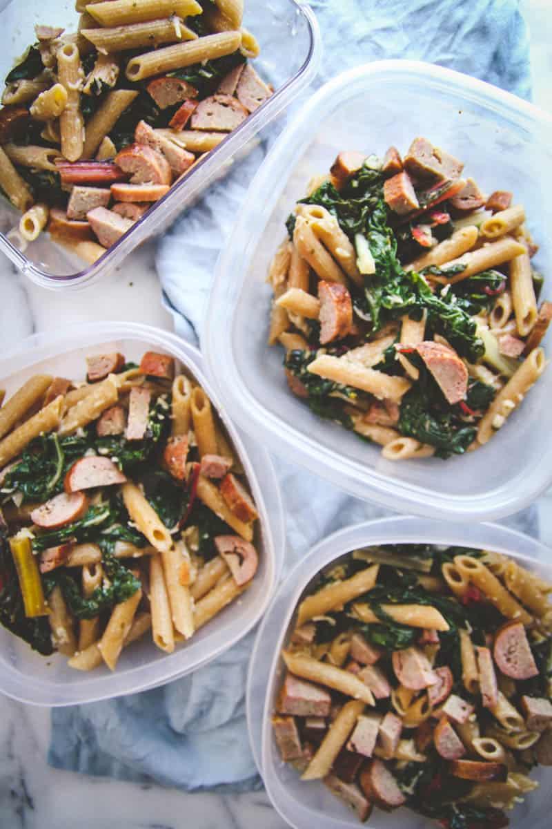 5-Ingredient Healthy Pasta
