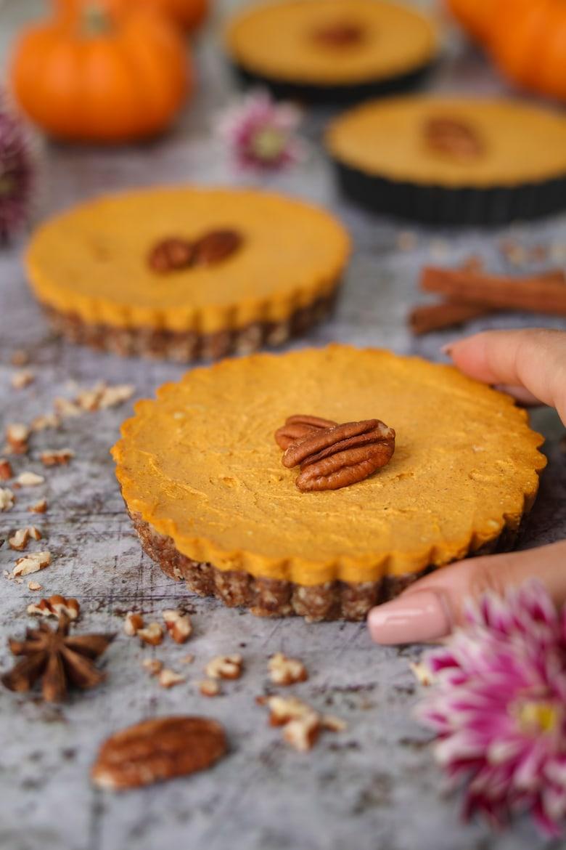 Mini Homemade Pumpkin Pies