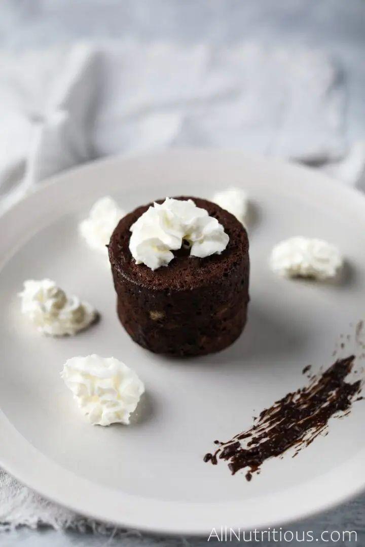 5-Ingredient Protein Mug Cake