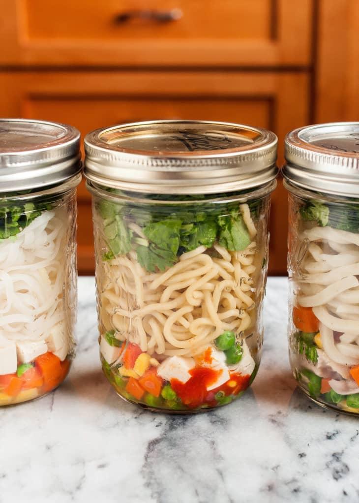 DIY Instant Noodle Cups