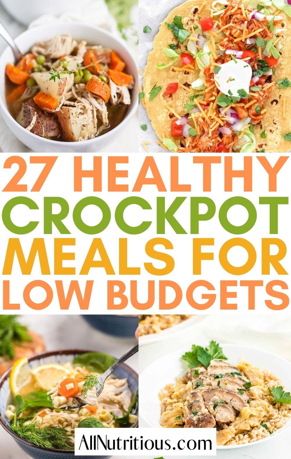 cheap crockpot meals