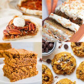 healthy fall desserts