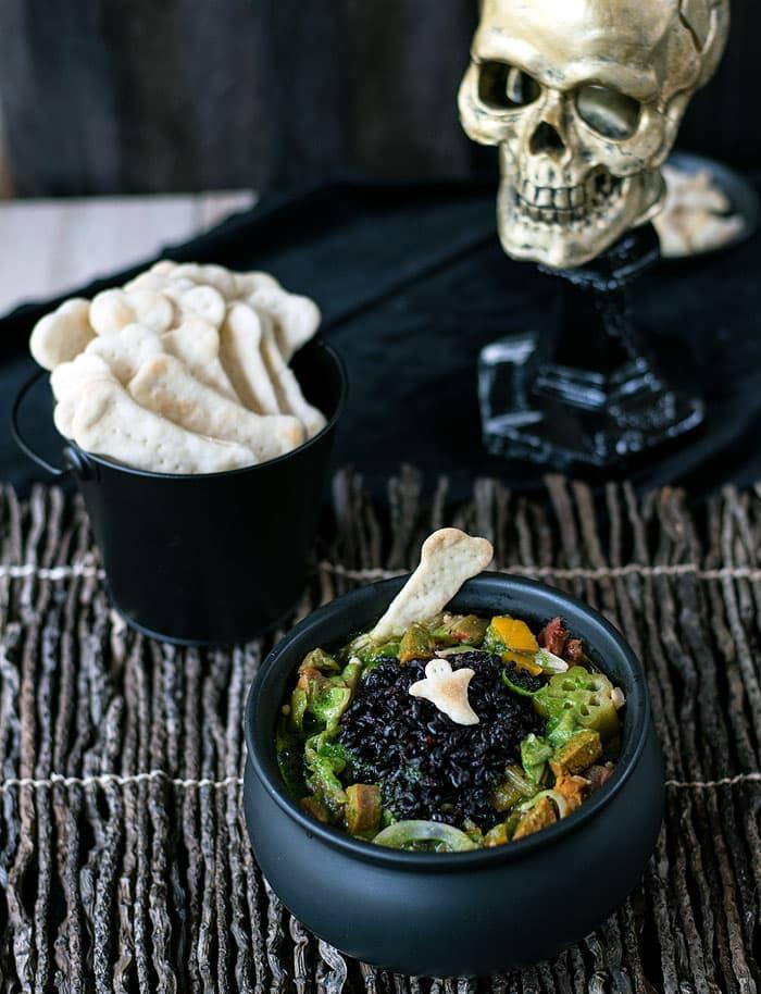 Swamp Monster Slow Cooker Jackfruit Gumbo