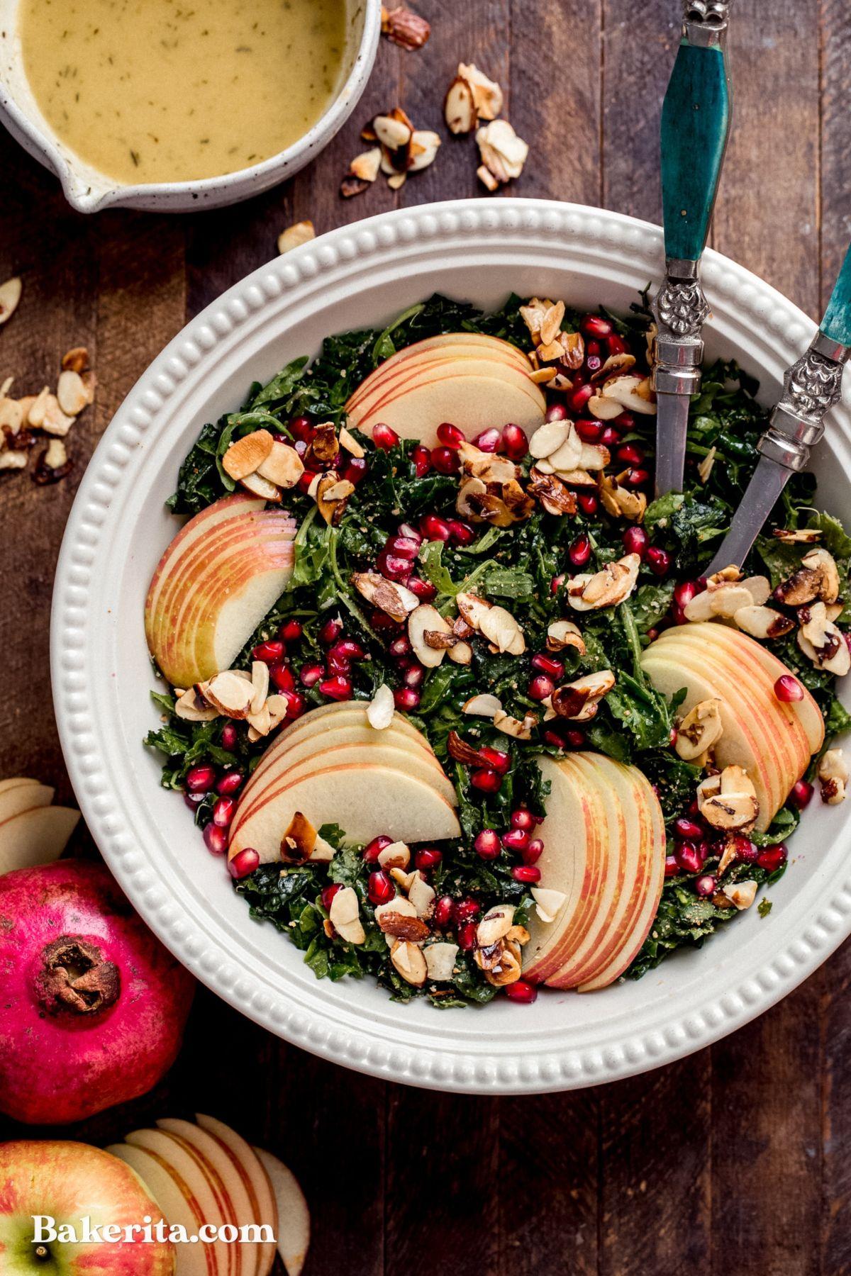 Autumn Kale Harvest Salad