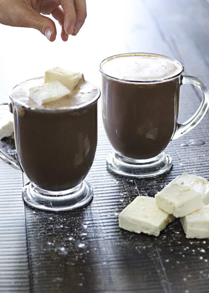 High Protein Sugar-Free Hot Chocolate