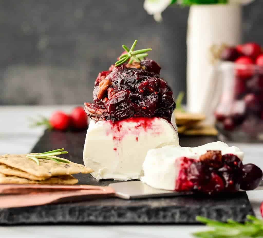 Cranberry Goat Cheese Appetizer