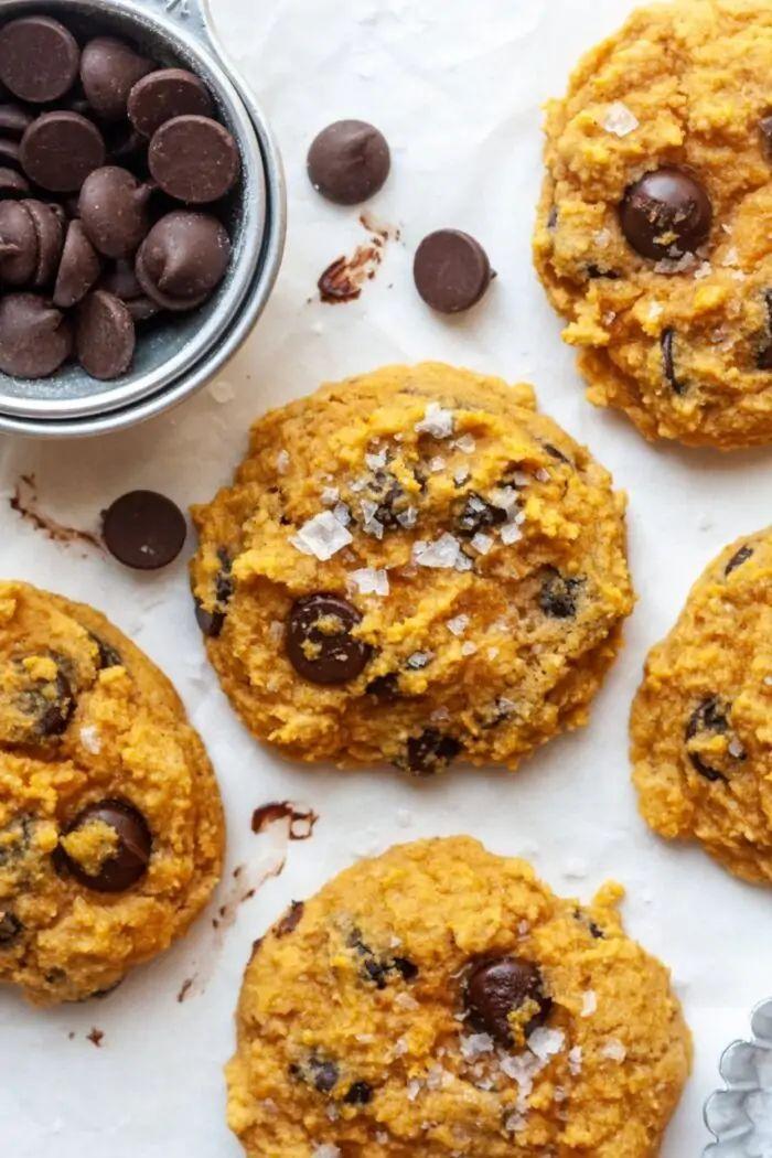 Paleo Almond Flour Pumpkin Cookies