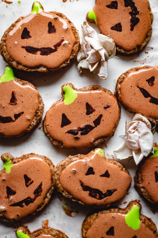 Healthy Pumpkin Sugar Cookies