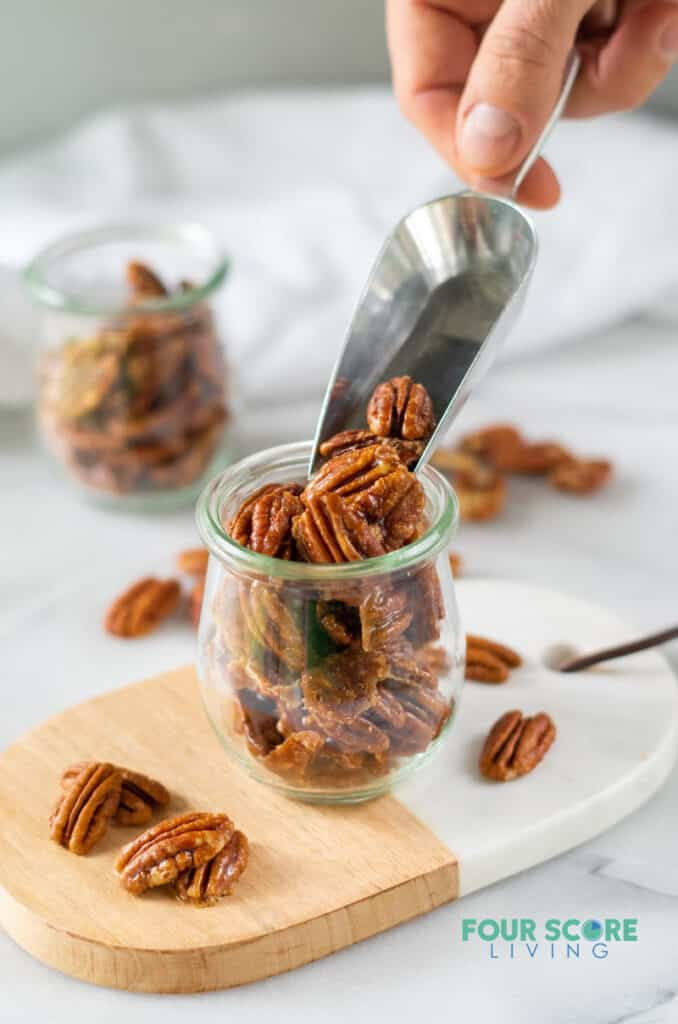Keto Candied Pecans