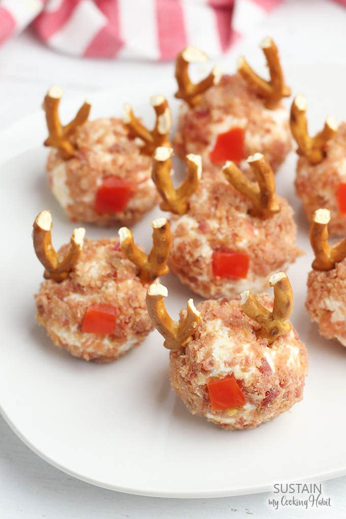 Reindeer Cheese Ball Appetizer
