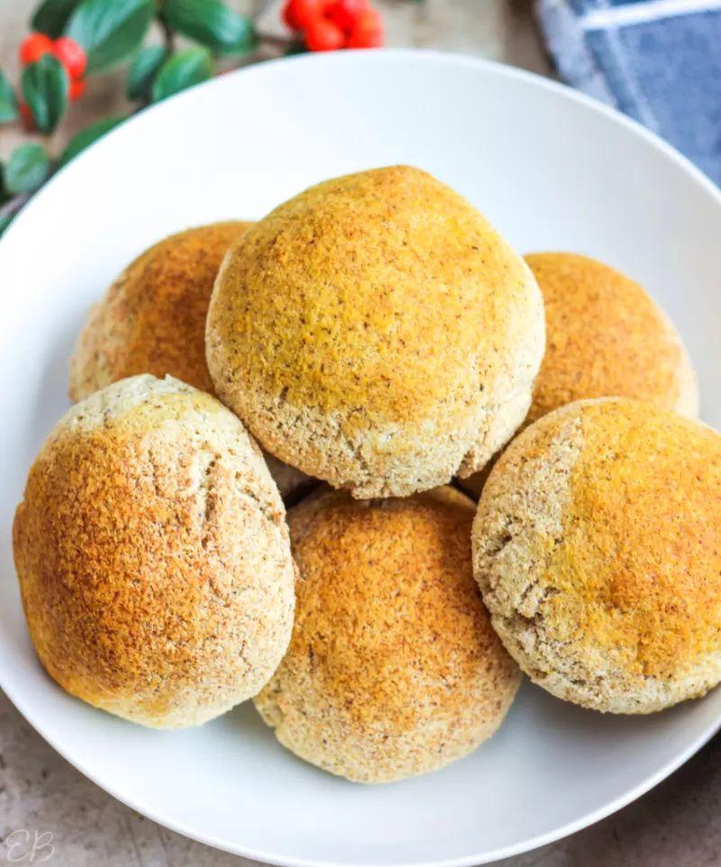 Keto Vegan Bread Rolls