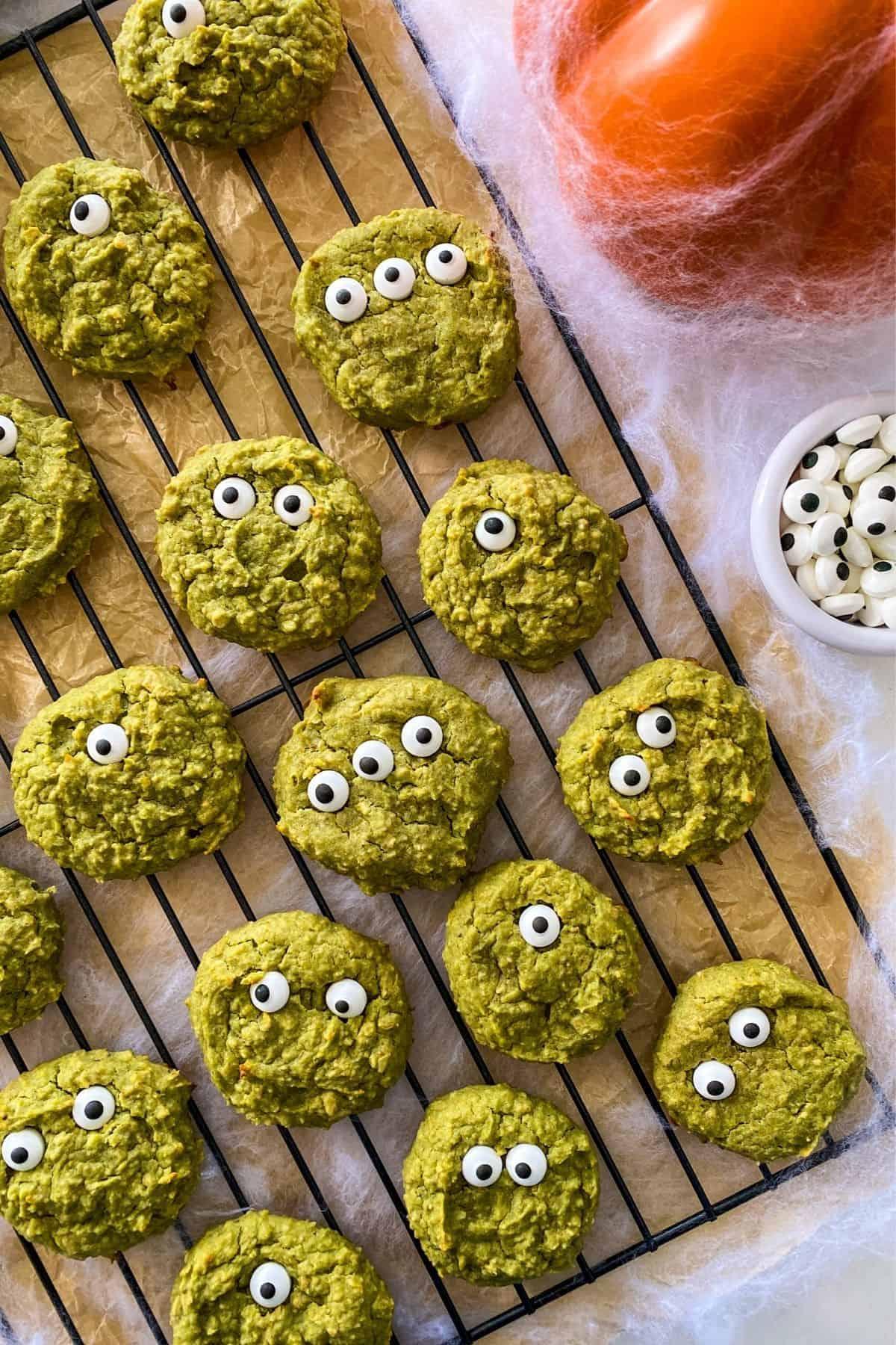 Healthy Halloween Cookies