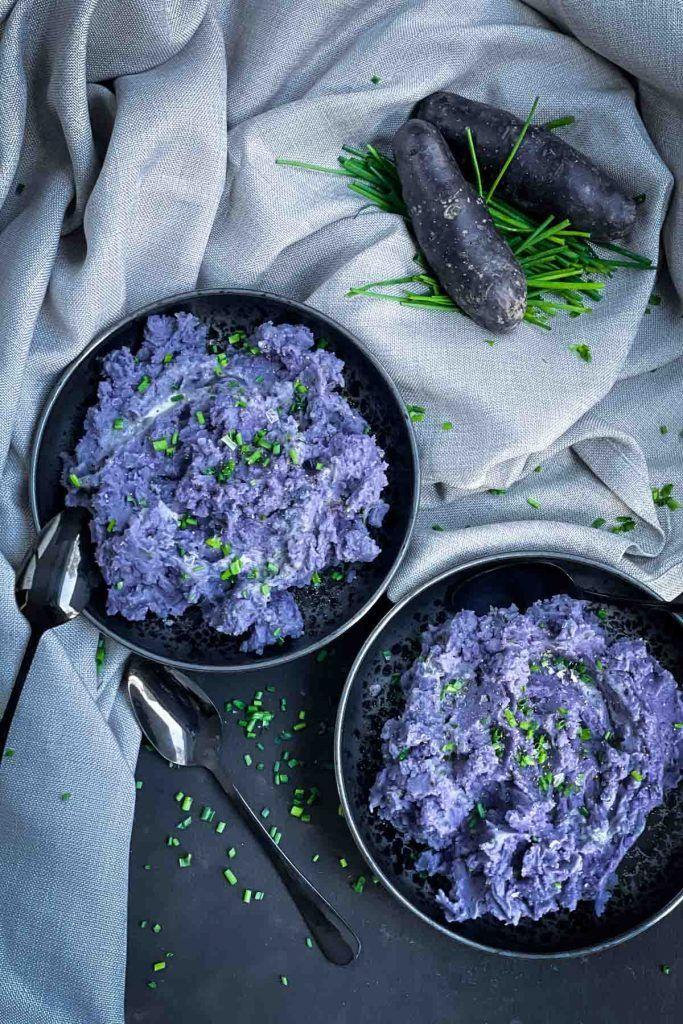 Purple Mashed Potatoes