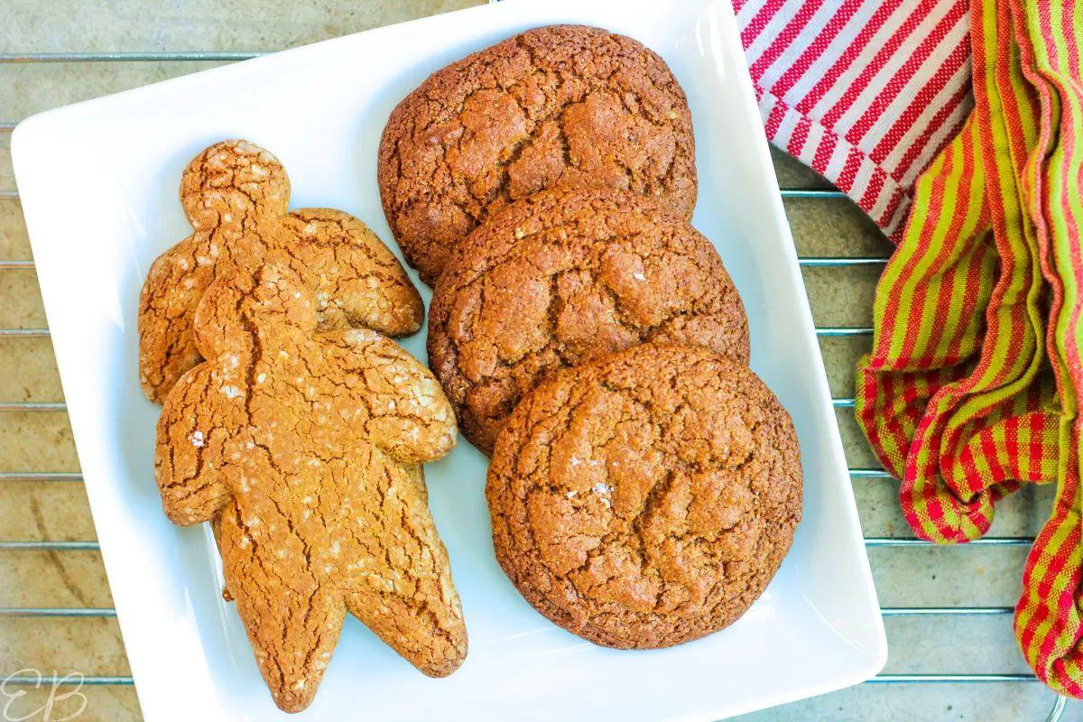 AIP Gingerbread Cookies