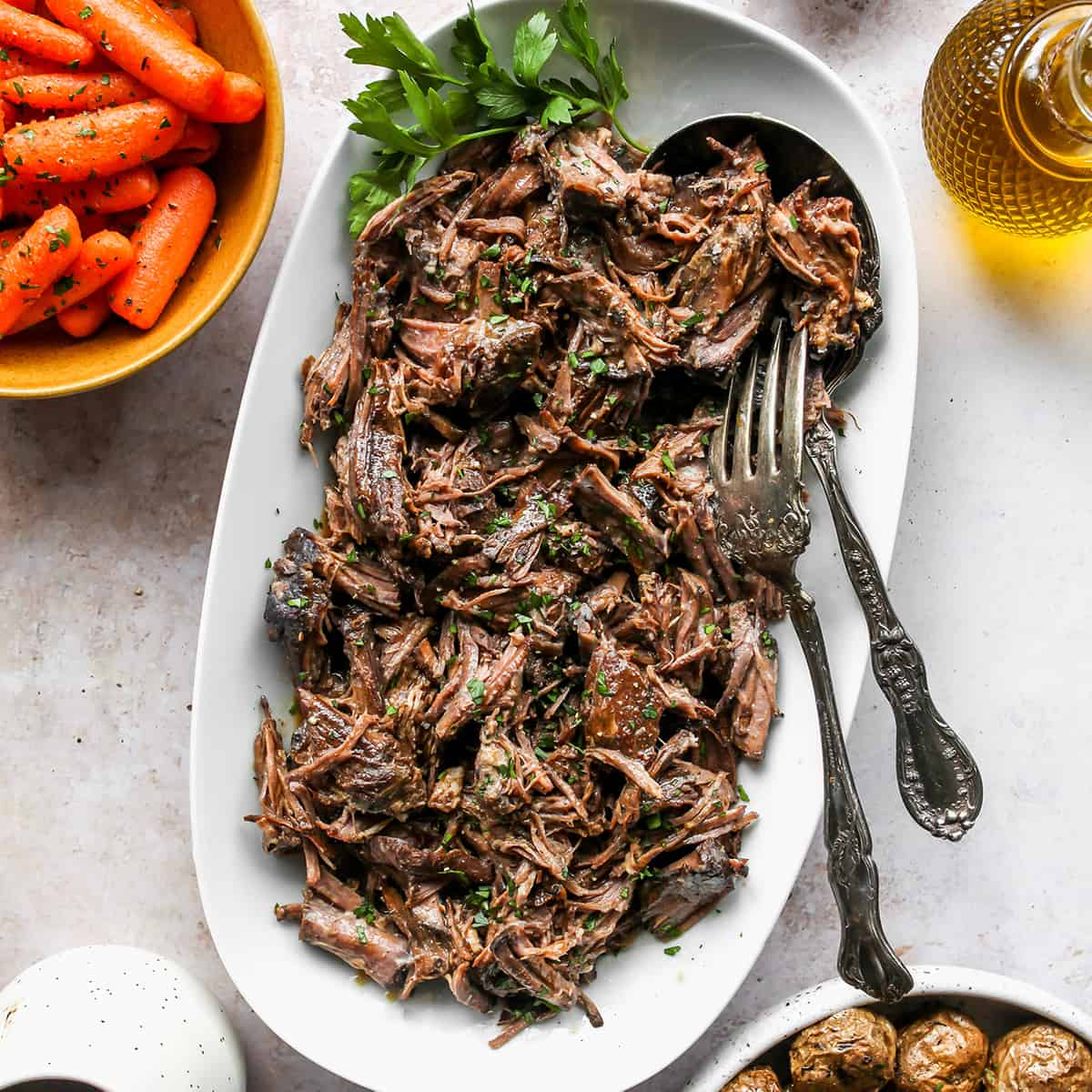 Balsamic Slow Cooker Pot Roast