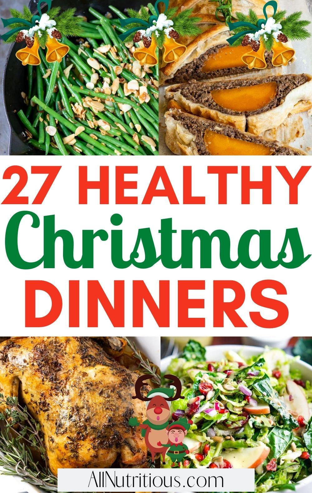 healthy christmas dinners