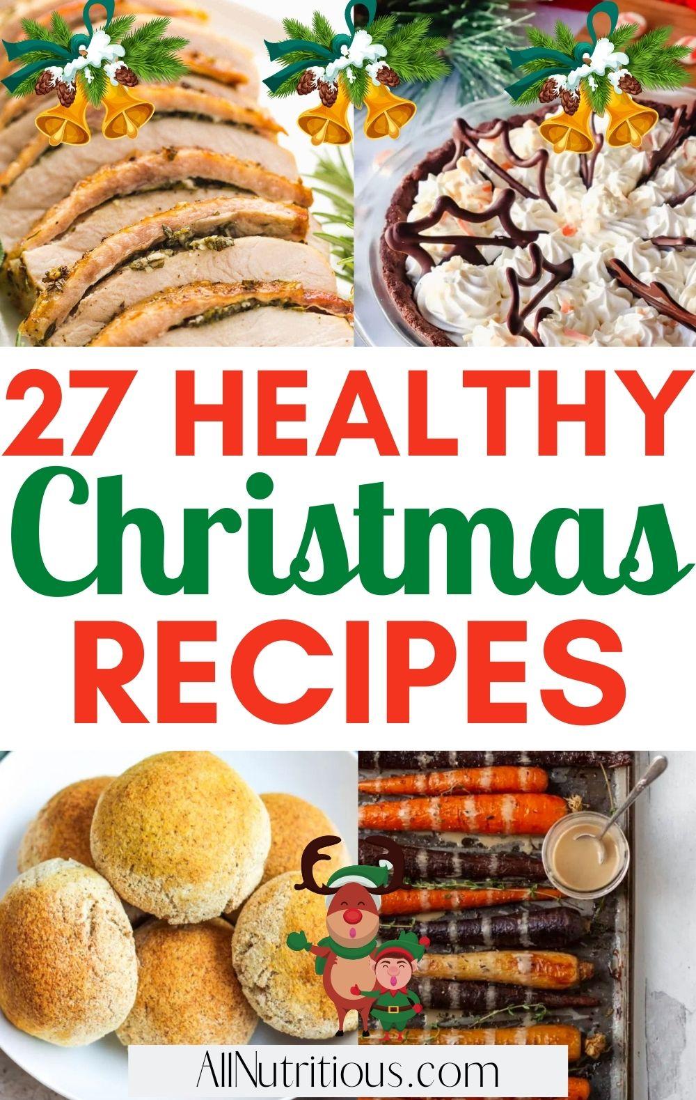 healthy christmas recipes